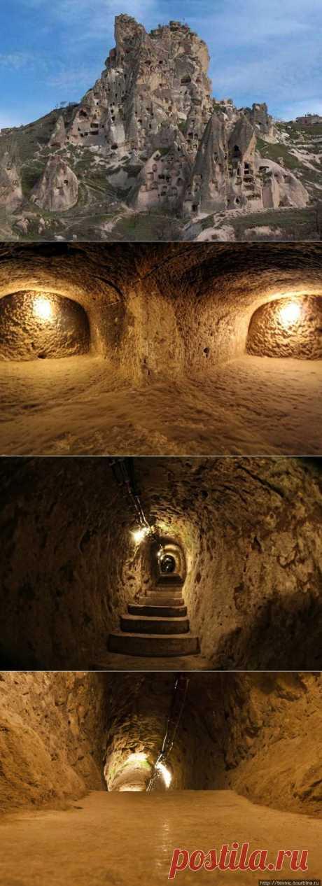 Город под землей - Деринкую, Турция. | НАУКА И ЖИЗНЬ