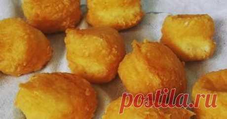Сырные шарики - пошаговый рецепт с фото.