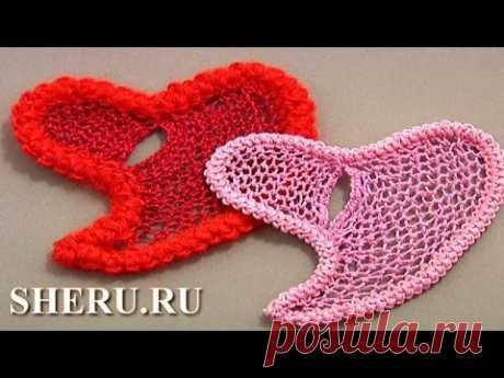 Crochet Romanian Heart Lace Tutorial 60 Rumano o shnurkovoe el encaje