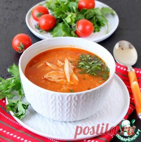 La sopa argelina de gallina con kus-kusom - la receta de cocina