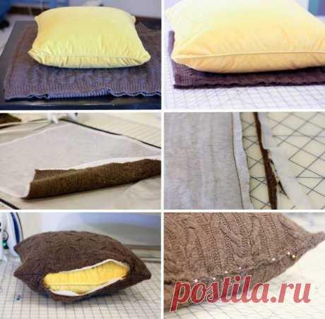 Add a room decor with bright original pillows