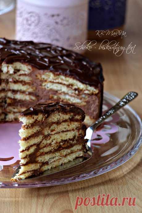 """Сметанный торт """"Черепаха"""""""