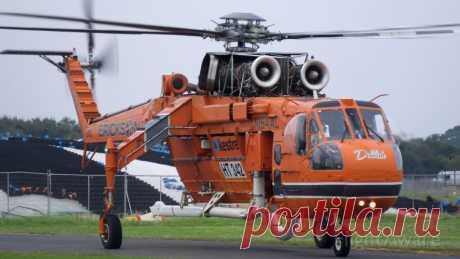 Фото Sikorsky CH-54 Tarhe (N194AC) - FlightAware