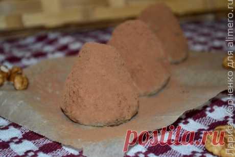 Домашние конфеты — творожные трюфели