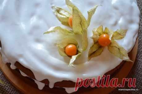 Тыквенный торт • домашний рецепт. С фото!