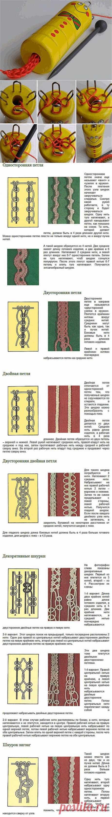 Плетение фенечек из шнурков..