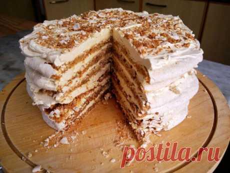 Египетский торт. Гости будут выпрашивать этот рецепт!