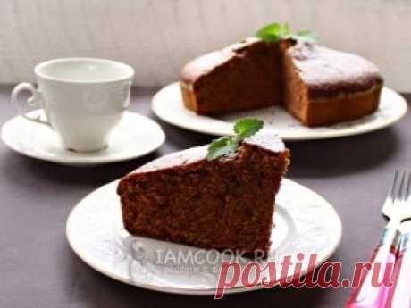 Шоколадный манник на молоке — рецепт с фото Шоколадный манник – вкусный и нежный домашний пирог, очень простой в приготовлении.