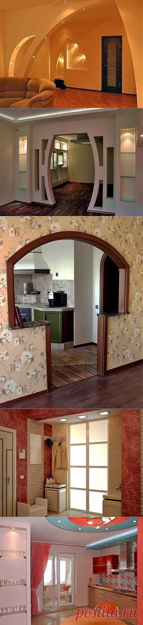 Примеры отделки квартир - современные идеи дизайна интерьера   ВСЁ ДЛЯ ДОМА