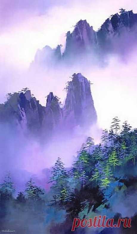 Художник Hong Leung (Хонг Леунг) | Картины