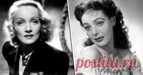 Прищепка на губы, угольные тени и еще 3 бьюти-уловки великих актрис прошлого Магия и красота черно-белого кино.