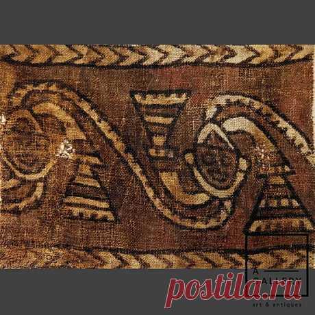 Фрагмент ткани, Культура Чанкай (1100-1400 гг. н.э.) | A-Gallery