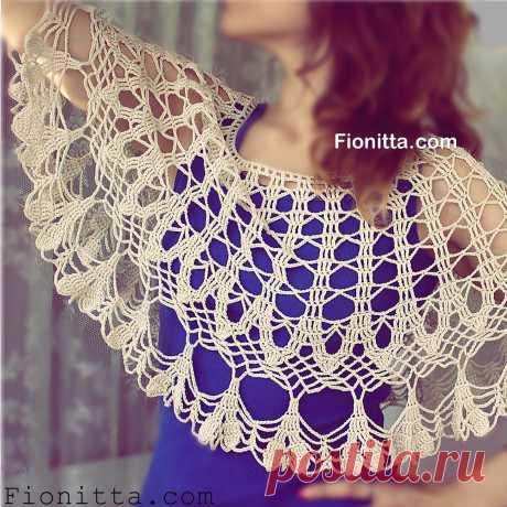 Light capelet | | Fionitta crochet
