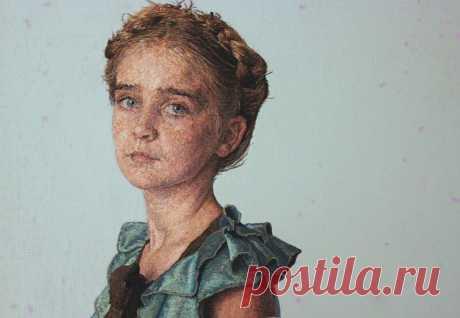 (+3) Вышитые портреты