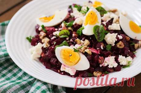 Ideal option for a dinner: beet will improve digestion and a metabolism, and eggs …