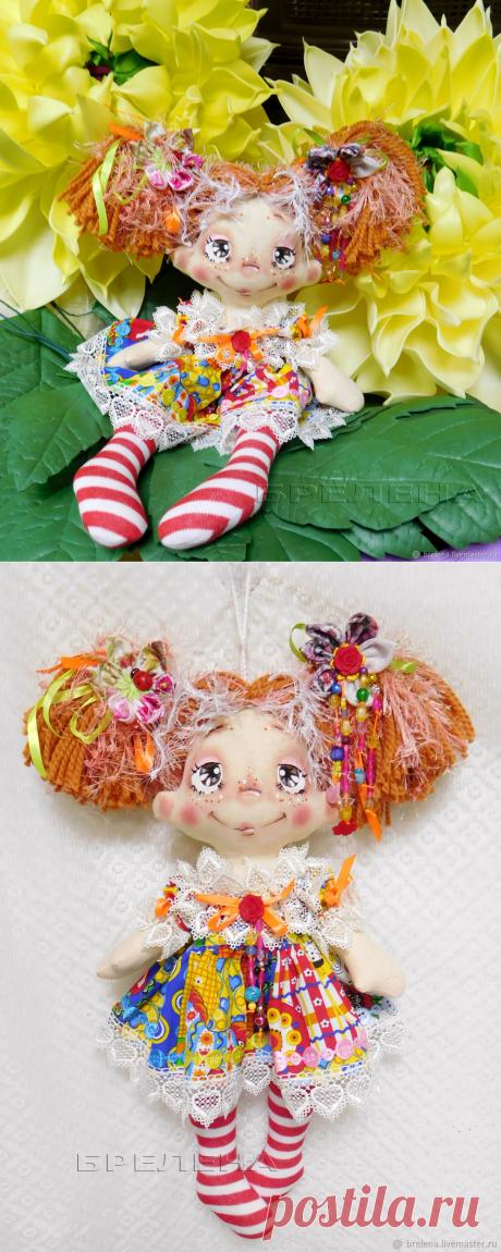 Авторская текстильная кукла Рыжик-домашняя феечка. Интерьерная кукла – купить на Ярмарке Мастеров – LN3FYRU | Куклы и пупсы, Месягутово