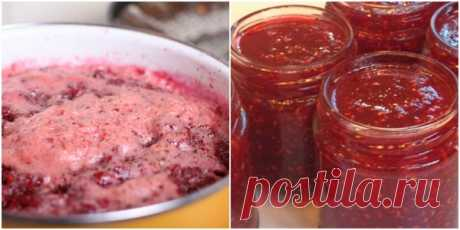 Varenye-pyatiminutka in 1 reception from any kind of berries: any long cooking, all vitamins on the place! \u000d\u000a= 1 kg of berries\u000d\u000a    1 kg of sugar\u000d\u000a    4 tablespoons of lemon juice (it is not necessary to add to cherry)\u000d\u000a\u000d\u000a= It is checked: house preparations are perfectly stored in conditions of the city apartment out of the refrigerator, do not turn sour and do not blow up.