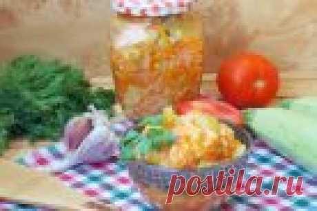 Салат из кабачков с рисом на зиму - пошаговый рецепт с фото