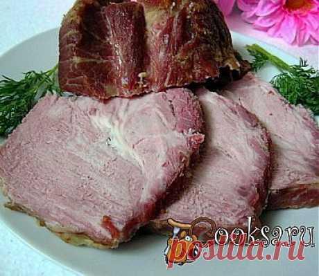 Запеченная свиная шея рецепт с фото