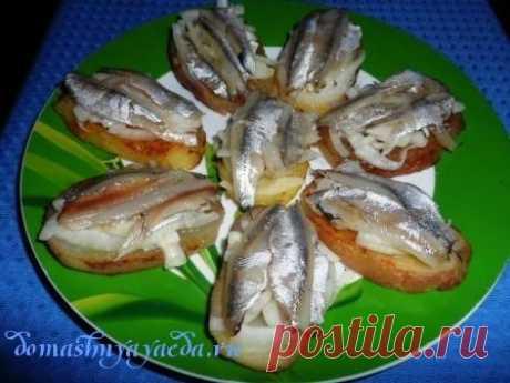 The Odessa snack from a tyulechka