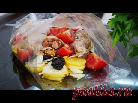 Обед в пакете за 20 минут и в духовку | Lunch in 20 minutes
