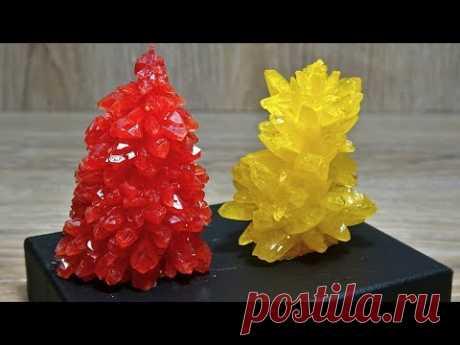 Как я за 2 дня вырастил дома потрясающе красивые кристаллы