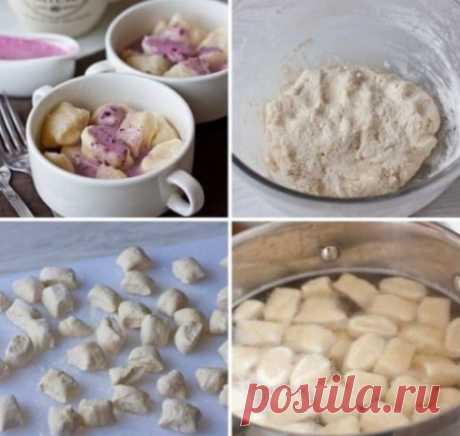 Супер завтрак! Ленивые вареники с творогом! Получается так вкусно, как будто бабушка готовила!