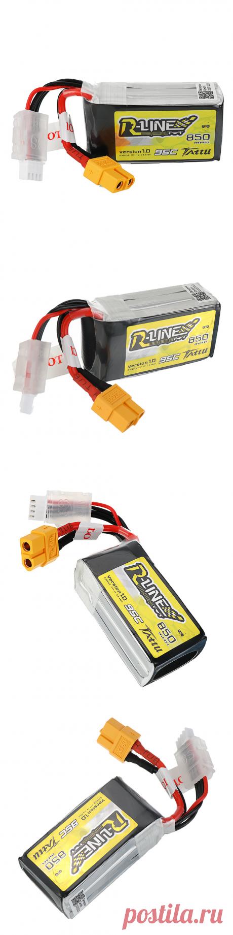 tattu r-line 1.0 11.1v 850mah 95c 3s lipo battery xt30 plug for for 100mm to 180mm multirotor fpv Sale - Banggood.com