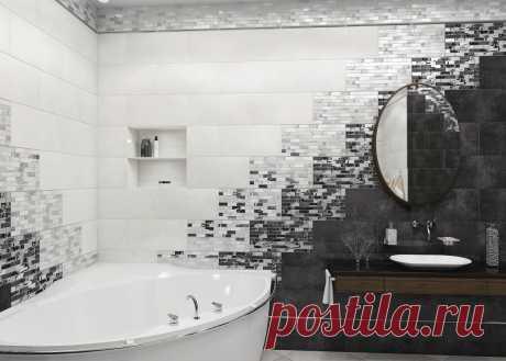 Оригинальные идеи с кафельной плиткой в ванной — Сделай сам, идеи для творчества - DIY Ideas