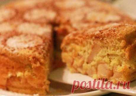 (8) Шарлотка с яблоками и корицей - пошаговый рецепт с фото. Автор рецепта Виктория Полякова . - Cookpad