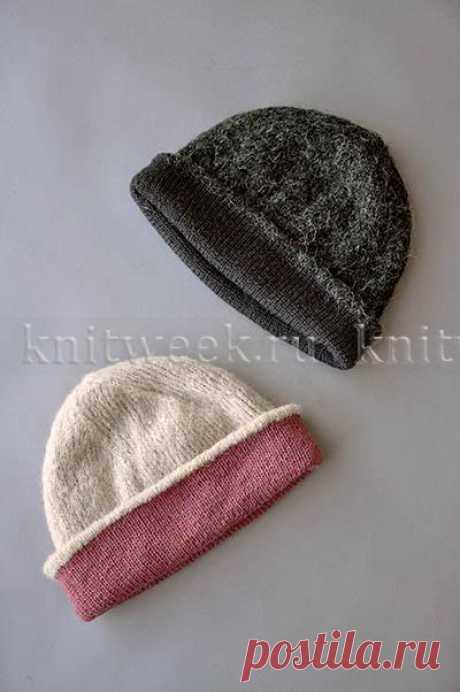 """Двойная шапка """"Джуно"""""""