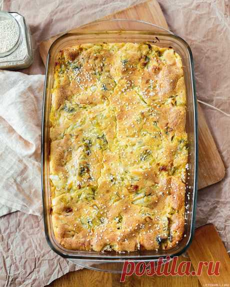 Рецепт очень простого и очень вкусного капустного пирога. | Летохин | Яндекс Дзен
