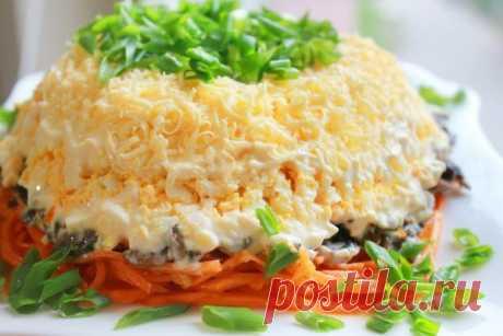 Салаты с копченой курицей рецепты с фото простые и вкусные | Cookingfood.com.ua