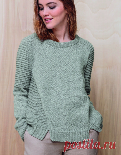 Вязаный свитер Lou | ДОМОСЕДКА