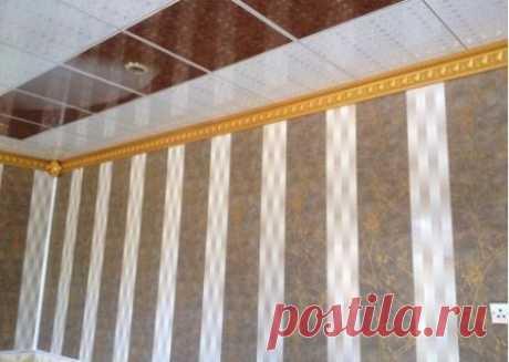 Выбор и применение ПВХ панелей в интерьере разных комнат, виды пластиковой отделки для стен и потолка, преимущества и недостатки, способы монтажа панелей из поливинилхлорида.