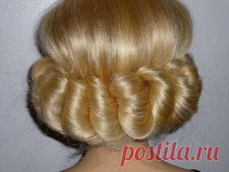 Причёска в греческом стиле с повязкой. Лёгкая причёска для средних и длинных волос