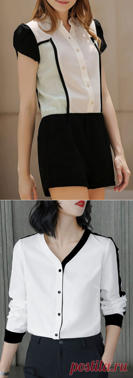 40 новых блузок : идеи / Блузки / ВТОРАЯ УЛИЦА