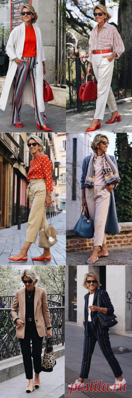 Брючные варианты для дам после 50: профиль Маргариты Аргуэльес — Красота и мода