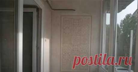 (6) Как сделать декоративную штукатурку из акриловой шпатлевки, песка и кофе - Самоделкино - медиаплатформа МирТесен