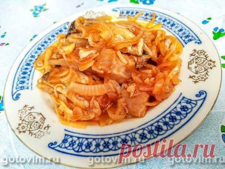 Маринованная сельдь по-корейски. Рецепт с фото