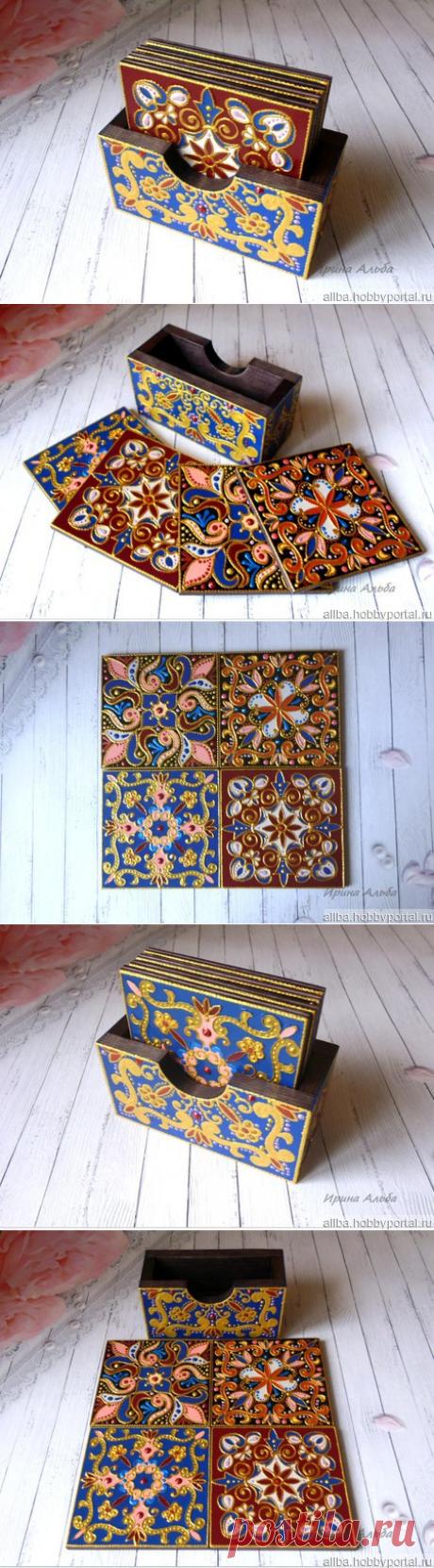Набор подставок под горячее – купить в интернет-магазине HobbyPortal.ru с доставкой
