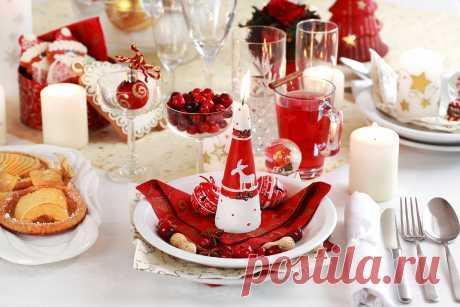 Сервируем новогодний стол: 4 главных правила, о которых должна знать каждая хозяйка | MirNaDivane.ru