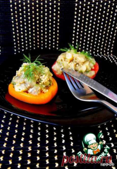 Баклажаны в микроволновке - кулинарный рецепт