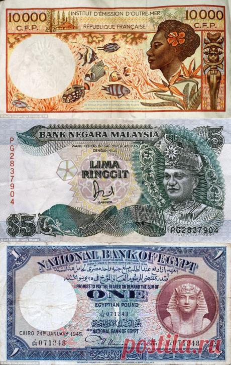 ✨ Money Money Money Самые красивые банкноты мира