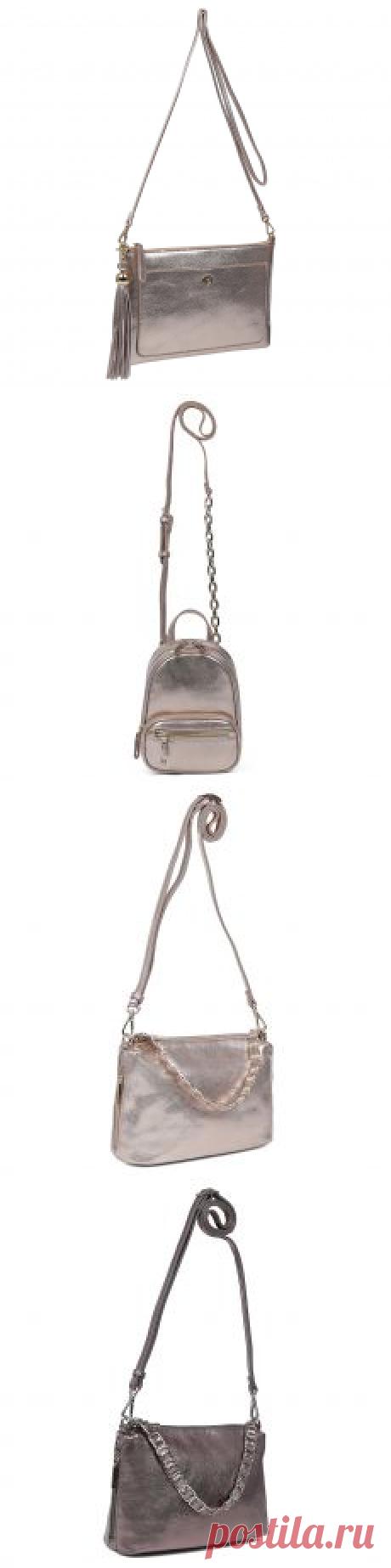 Итальянские кросс-боди сумки от Leo Ventoni