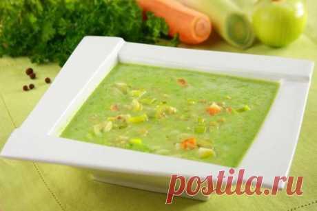 Суп-пюре из консервированного зеленого горошка – пошаговый рецепт с фото.