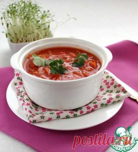 """Суп """"Ешь и худей"""" - кулинарный рецепт"""