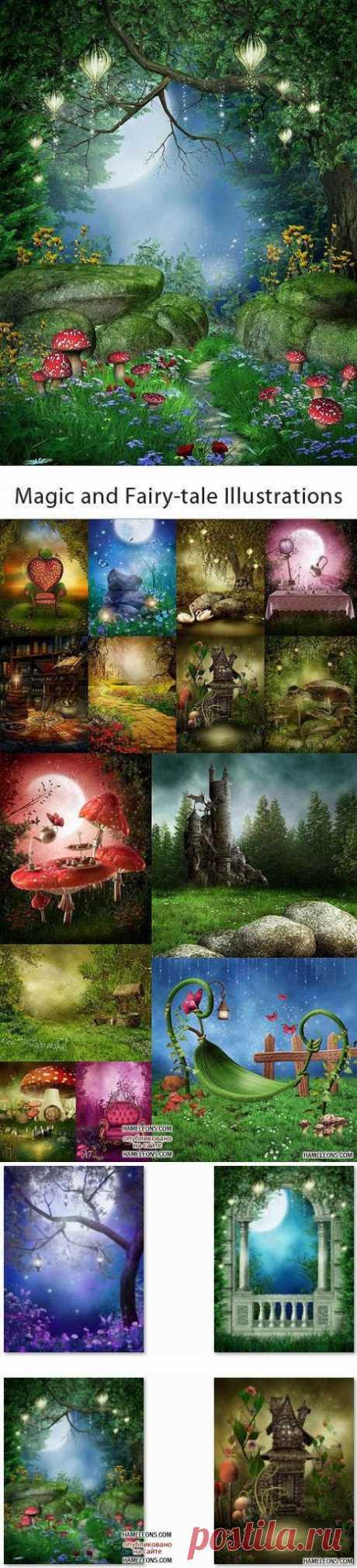 Сказочная природа - фоны для Фотошоп | Fairy tale nature backgrounds » Портал графики и дизайна: векторный и растровый клипарт, уроки, фоторамки, шаблоны для Фотошоп скачать бесплатно на HAMELEONS.COM