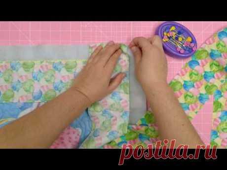 SOS! Спасаем одеяло! Широкая окантовка лоскутного одеяла. Пэчворк для новичков.