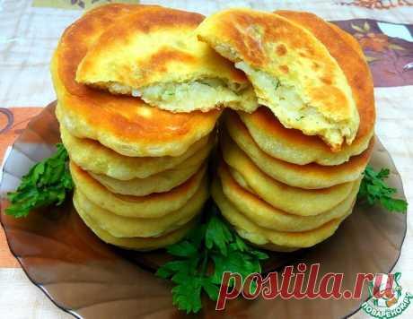 Тонкие пирожки на кефире с картофелем – кулинарный рецепт